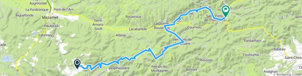 Pradelles-Cabardès - Saint-Pons-de-Thomières