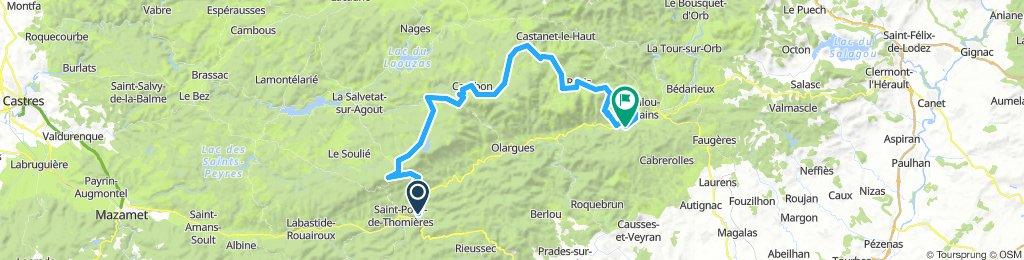Saint-Pons-de-Thomières - Lamalou-les-Bains