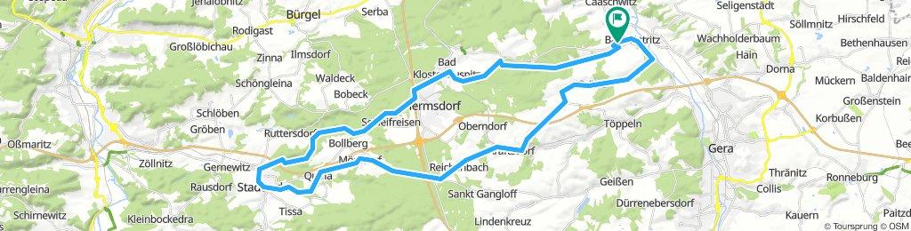 Bad Köstritz-Stadtroda-Bad Köstritz. Durch das Thüringer Holzland