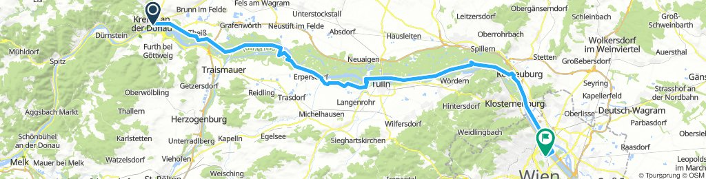 Krems - Tulln - Wien
