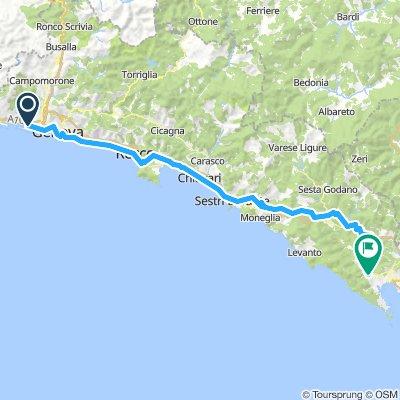 DAY 1 - Genoa to La Spieza