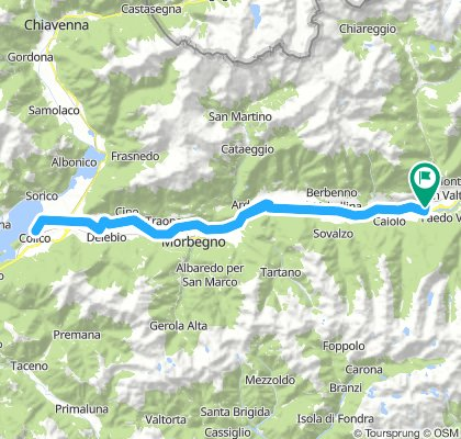 Sentiero Valtellina 1: Sondrio - Morbegno - Colico