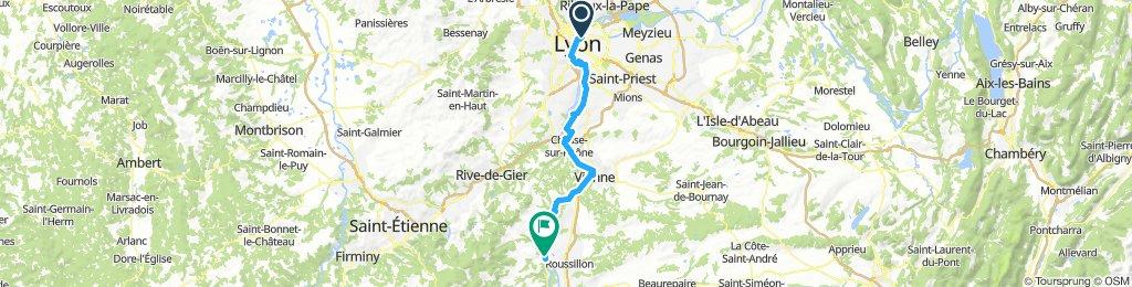 Lyon - St-Pierre-de-Boeuf