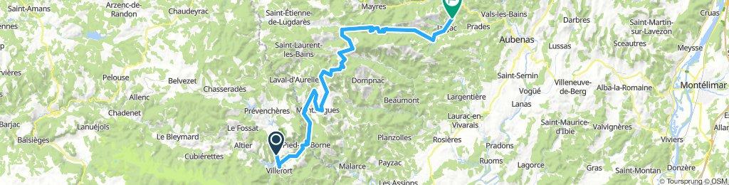 Villefort - Jaujac
