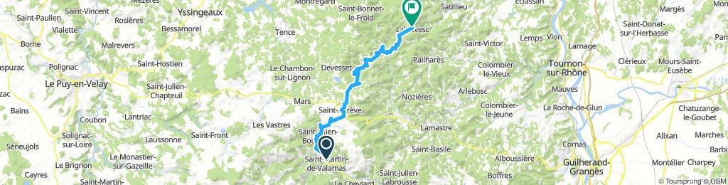 Saint-Martin-de-Valamas - Lalouvesc