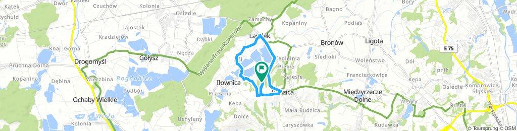 Slow ride in Rudzica