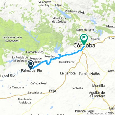 Day 3 P. del rio to Palaccio del corregidor Cordoba