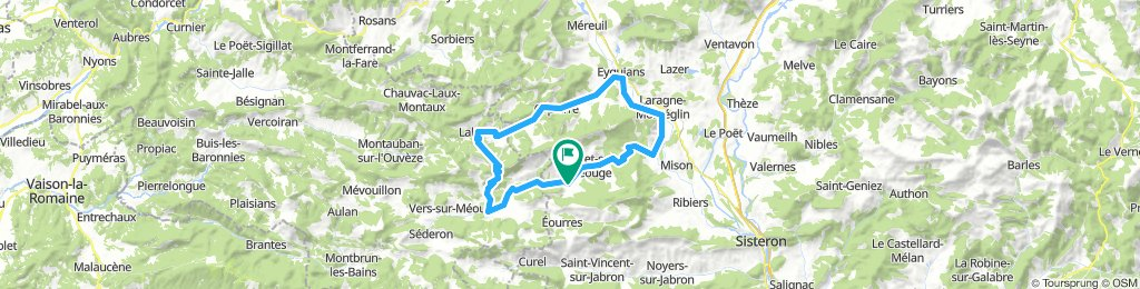 Tour of Chabre from Serre Des Ormes