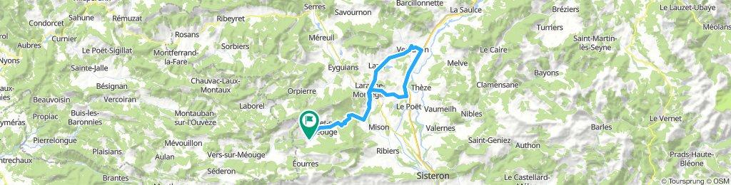 Ventavon from Serre Des Ormes