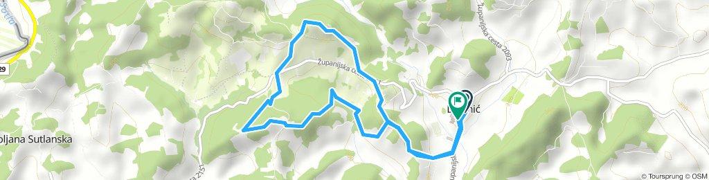 Zbnb rekreativna 7,40 km