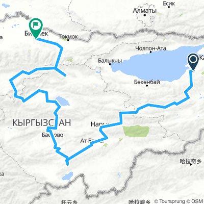 Kirgistan - Tian Shan
