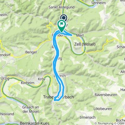 Bullay nach Traben-Trabach und zurück