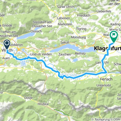 Villach-fakersee-Drau-Mr.Rain-KLagenf.65Km