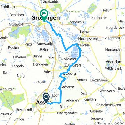 Assen-Groningen