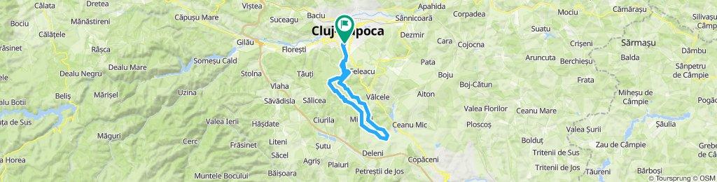 turaFagetul Clujului varianta scurta 07.04.2019