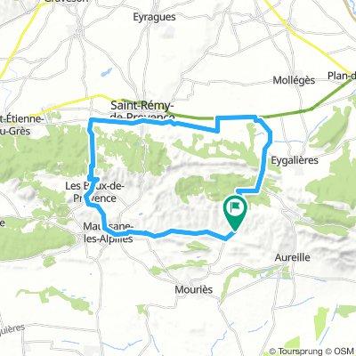 Alpilles 40 km