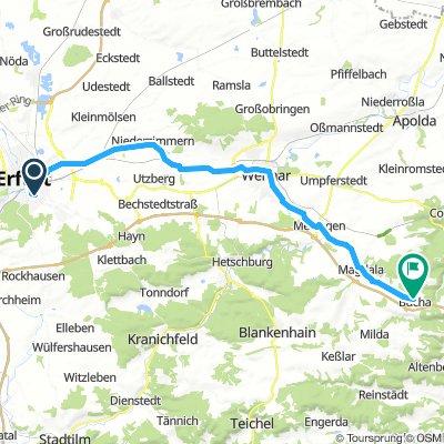 Radscheune Erfurt - Bucha