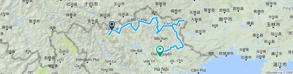 Cycling Northeast Vietnam 13 Days, Bruce x3