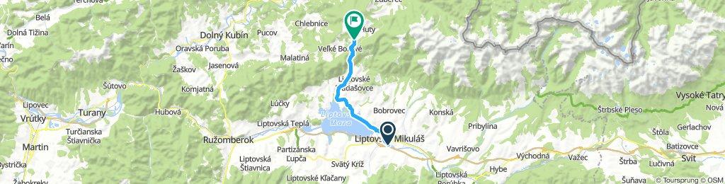 Liptovský Mikuláš - Kvačianska Dolina