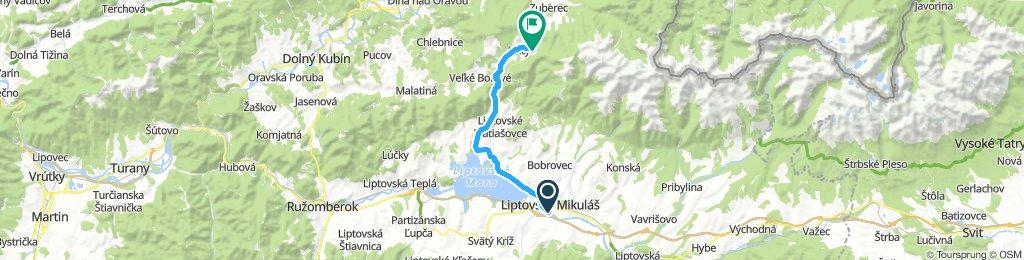 Liptovský Mikuláš - Kvačianska Dolina - Biela Skala