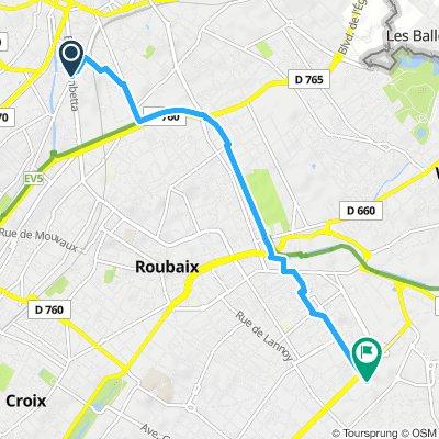 Hotel-sortida Roubaix 2019
