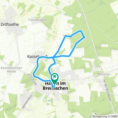 Moderate Route in Hagen im Bremischen