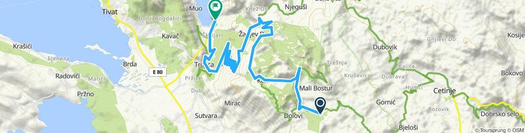 Vom Hotel Monte Rosa nach Kotor