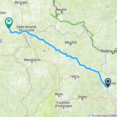 2eme étape Roanne - Lignières