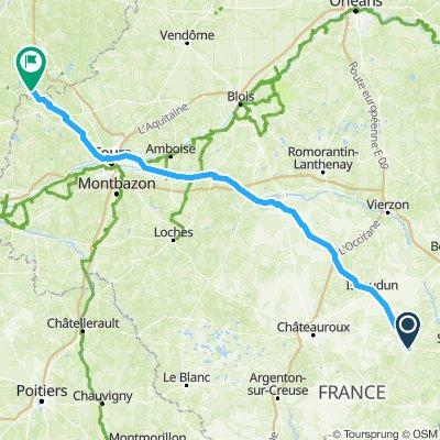 3eme étape Lignières - St Germain d'Arcé