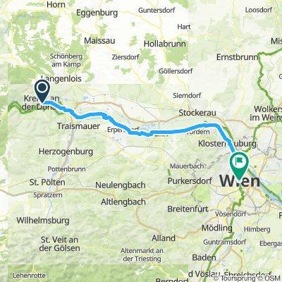 Day 15 Krems an der Donau to Vienna