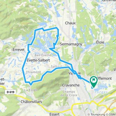 Belfort Nord-Route