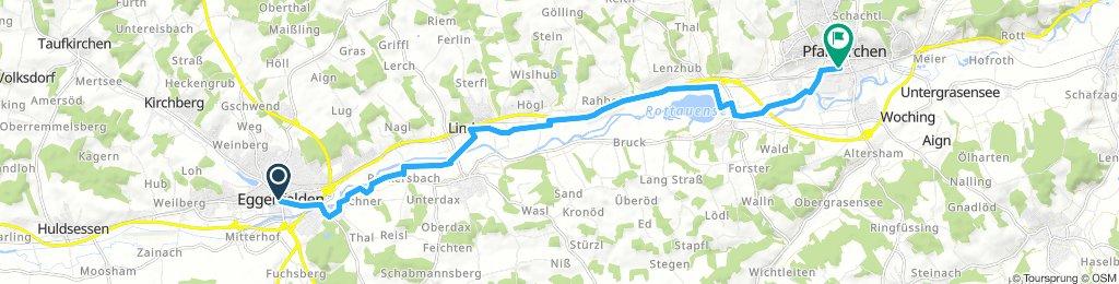Gerade Fahrt in Pfarrkirchen