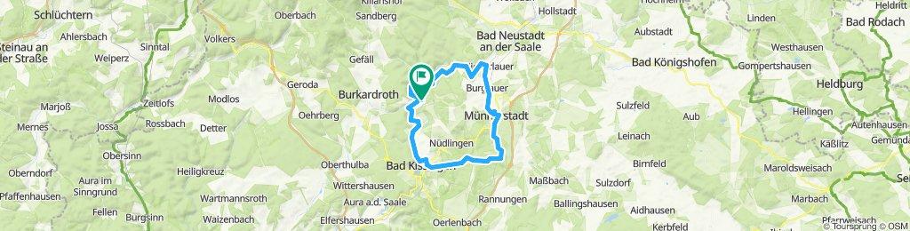 2019-02-18: Bad Bocklet - Münnerstadt - Bad Kissingen