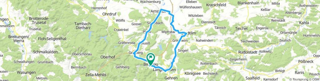 2019-02-24: Ilmenau - Arnstadt