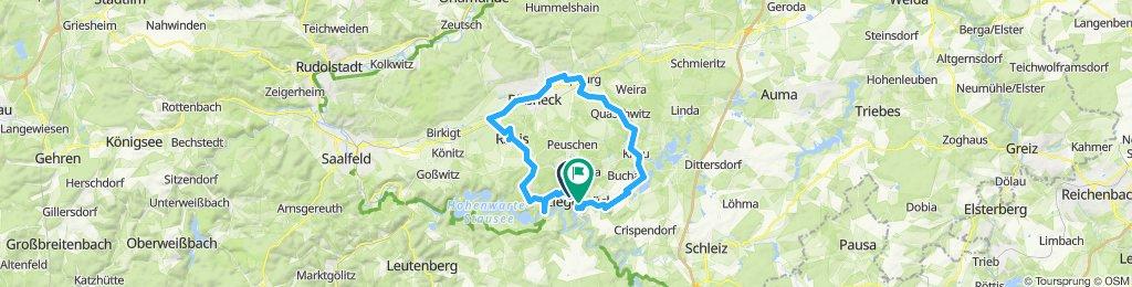 2019-03-30: Ziegenrück - Pössneck