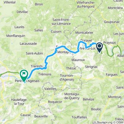 Etape 6 Puy l'Eveque - Penne d'Agenais
