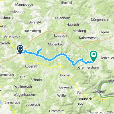 Ulmen Endertal Landkern 20,5km 270/300hm