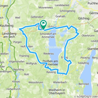 Große Tour im 5-Seen-Land