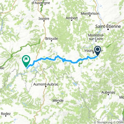 Deel 4 Saint Jeures - Tagenac 163,2km