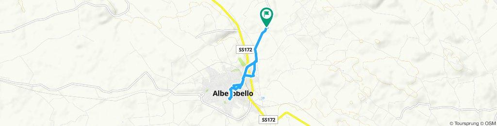 Day 1 15 May Camping dei Trulli - Alberobello