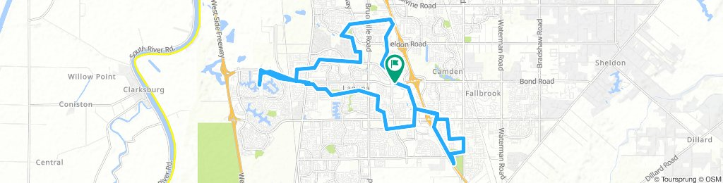 6061 BMX Ride - Elk Grove (04-07-19)