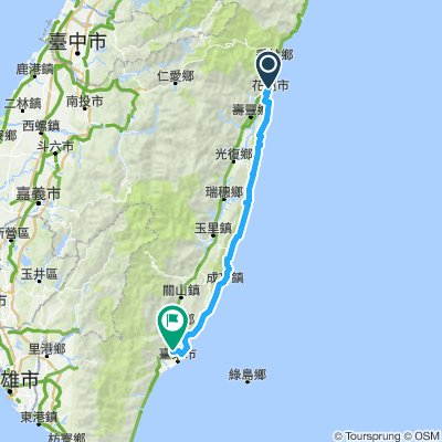 Hualien to Taitung – Highway #11