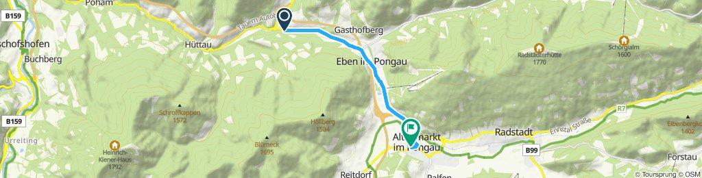 Route im Schneckentempo in Altenmarkt im Pongau