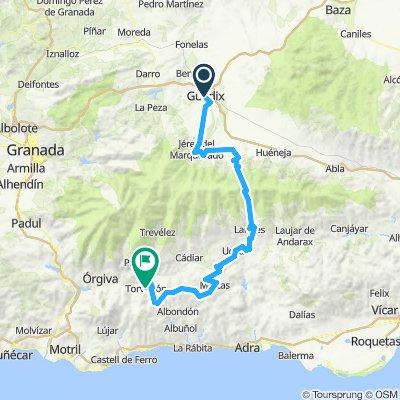 Guadix - Torvizcon por Murtas