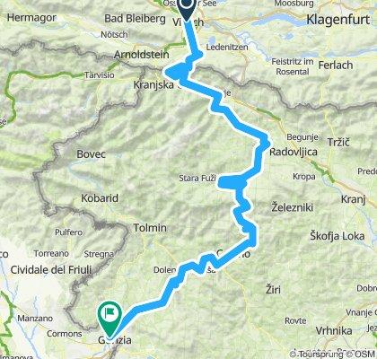 Villach-Bled-Görz