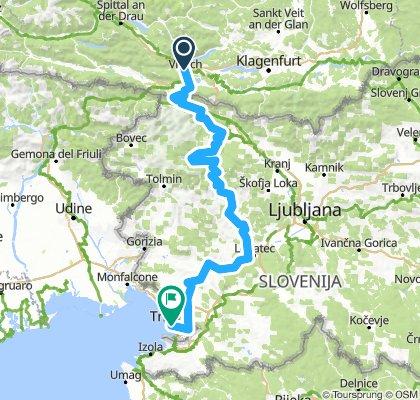 Villach-Bled-Triest