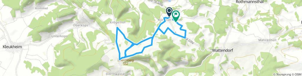 Route im Schneckentempo in Bad Staffelstein