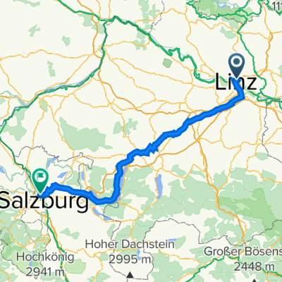 Linz Attersee Salzburg