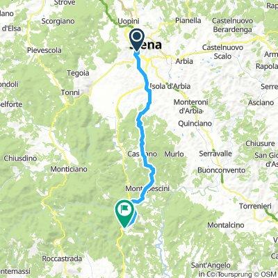 Tag 4 Casale di Pari zurück nach Siena