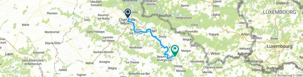 Charleville-Mez, Camping des Bouleaux, Inor